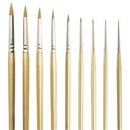 Pro Arte Series 107 Prolene Spotting Brushes Thumbnail Image 0