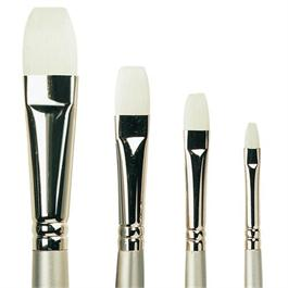 Pro Arte Series 201 Sterling Acrylix Brushes - Short Flat thumbnail