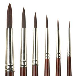 Pro Arte Series 202 Acrylix Brushes - Round Thumbnail Image 0