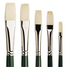 Pro Arte Series A Hog Brush - Long Flat Thumbnail Image 0