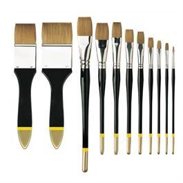 Pullingers Artists Value Brushes - Profile Flat Thumbnail Image 0