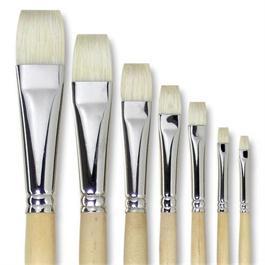 Pullingers Artists Value Super-Hog Brush Short Flat Thumbnail Image 0
