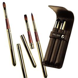 Pro Arte Series R Retractable Prolene Plus Brushes - Set of 3 thumbnail