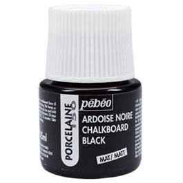 Pebeo Porcelaine 150 Chalkboard Black Paint 45ml thumbnail
