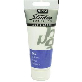 Pebeo Studio Acrylic Brilliant Gloss Gel Medium 100ml Tube thumbnail