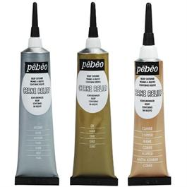 Pebeo Cerne Relief Metal Set 3 x 20ml Thumbnail Image 1