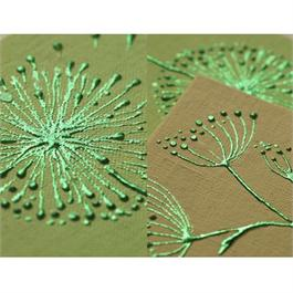 Gedeo Mirror Effect Metal Leaf - GREEN Thumbnail Image 1