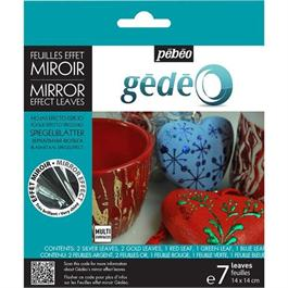 Gedeo Mirror Effect Leaf - Assorted thumbnail