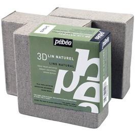 Pebeo 3D Natural Linen Canvases 10 x 10cm SET OF 3 thumbnail