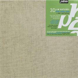 Pebeo 3D Natural Linen Canvas 30 x 30cm thumbnail