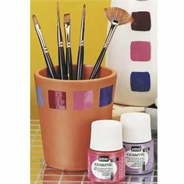 Pebeo Ceramic Paint - 28 Colours Thumbnail Image 1