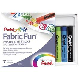 Pentel Fabric Fun Pastel Set 7 Colours thumbnail