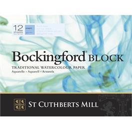 "Bockingford Block 12x9"" 140lbs / 300gsm 'NOT' thumbnail"