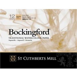 "Bockingford Glued Pad 12x9"" 140lbs / 300gsm Rough thumbnail"
