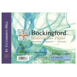 Bockingford Spiral Watercolour Pads 140lbs / 300gsm 'NOT' thumbnail