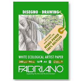 Fabriano Eco Sketch Pad A3 200gsm 25 Sheets thumbnail