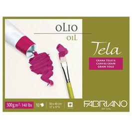 Fabriano Tela Oil Block 12x16in (30 x 40cm) 300gsm thumbnail