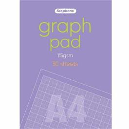 Stephens Graph Pad A4 115gsm 30 Sheets thumbnail