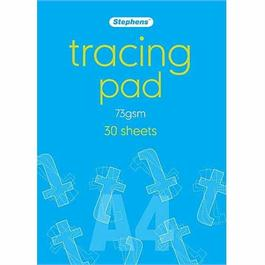 Stephens Tracing Pads A4 73gsm 30 Sheets thumbnail