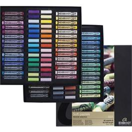 Rembrandt 60 Half & 60 Full Length Soft Pastels Set thumbnail