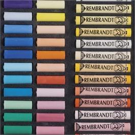 Rembrandt 60 Half & 60 Full Length Soft Pastels Set Thumbnail Image 2