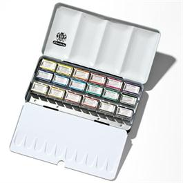 Schmincke HORADAM Watercolour Metal Set 18 x 1/1 Pans thumbnail