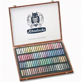 Schmincke Artists Soft Pastel 100 Wooden Box Set thumbnail