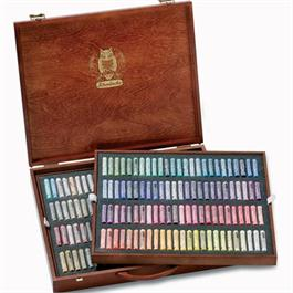 Schmincke Artists Soft Pastel 200 Wooden Box Set thumbnail