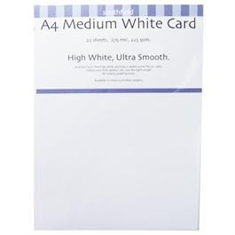 225gsm Medium White Card Packs thumbnail