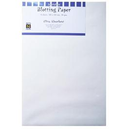 285 x 420mm White Blotting Paper Pack Of 10 Sheets thumbnail