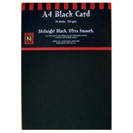 A3 220gsm Black Card Pack thumbnail