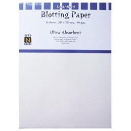 210 x 285mm White Blotting Paper Pack Of 10 Sheets thumbnail