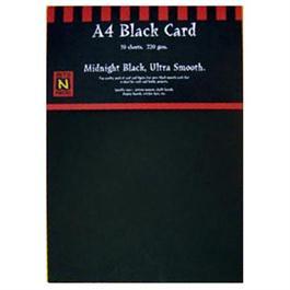 A5 220gsm Black Card Pack thumbnail