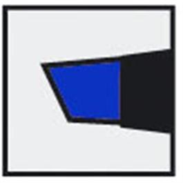 Staedtler Lumocolor Permanent B Blue thumbnail