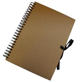 Seawhite Wire-o Kraft Sketch Book Thumbnail Image 0