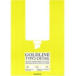Goldline Typo/Detail Pad A4 thumbnail