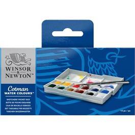 Cotman Watercolour Sketchers Pocket Box Thumbnail Image 1