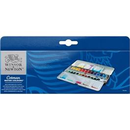 Cotman Metal Sketchers Box (24 Half Pans) Thumbnail Image 1