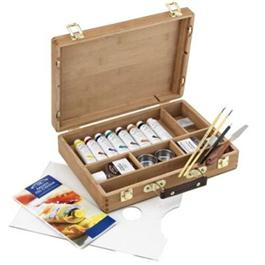 Winsor & Newton Artists Oil Paint Bamboo Box Set thumbnail