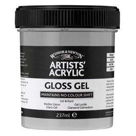 Winsor & Newton Artists' Acrylic Gloss Gel Medium 237ml thumbnail