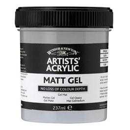 Winsor & Newton Artists' Acrylic Matt Gel Medium 237ml thumbnail