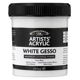 Winsor & Newton Artists' Acrylic White Gesso 225ml thumbnail