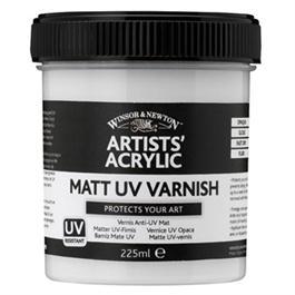 Winsor & Newton Artists' Acrylic Matt UV Varnish 225ml thumbnail