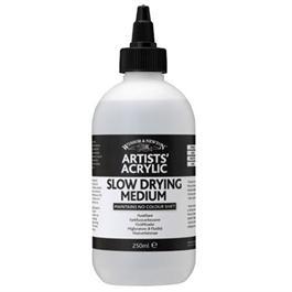 Winsor & Newton Artists' Acrylic Slow Drying Medium 250ml thumbnail