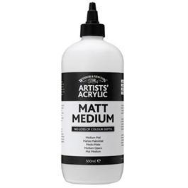 Winsor & Newton Artists' Acrylic Matt Medium 250ml thumbnail