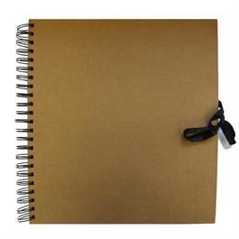 Seawhite 300 x 300mm Square Wire-o Kraft Sketch Book thumbnail