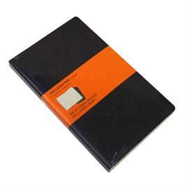 Moleskine Ruled Cahier Large - Black  (Set of 3) Journal Notebook Thumbnail Image 1