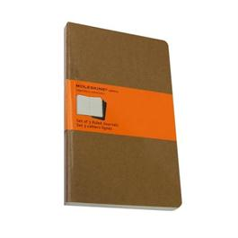 Moleskine Ruled Cahier Large - Kraft (Set of 3) Journal Notebook thumbnail