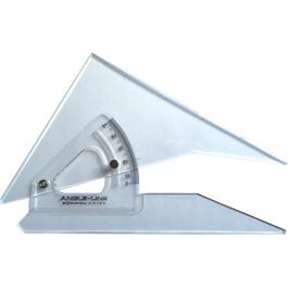 300mm Angle-Line Adjustable Set Square with Inking Edge thumbnail