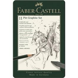 Faber Castell Pitt Graphite Set of 11 items thumbnail